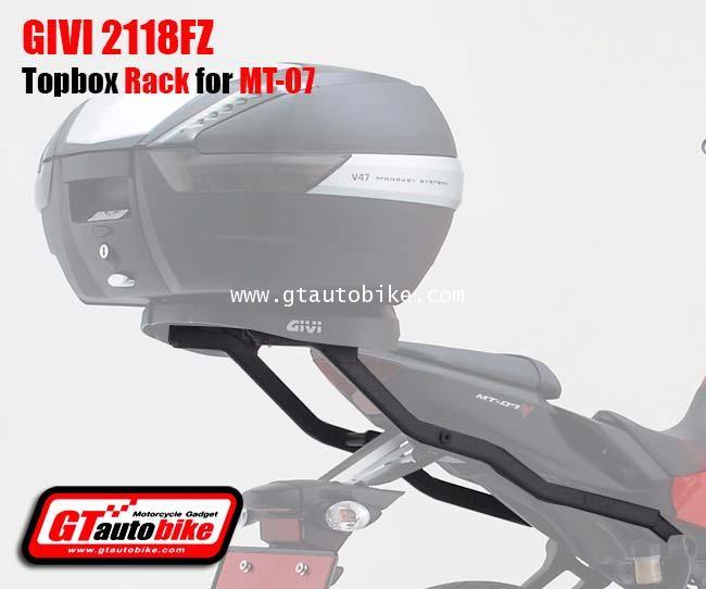 Givi 2118FZ Top Case Rack Yamaha MT-07