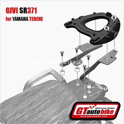 GIVI SR371 Rear Plate for Yamaha Terene