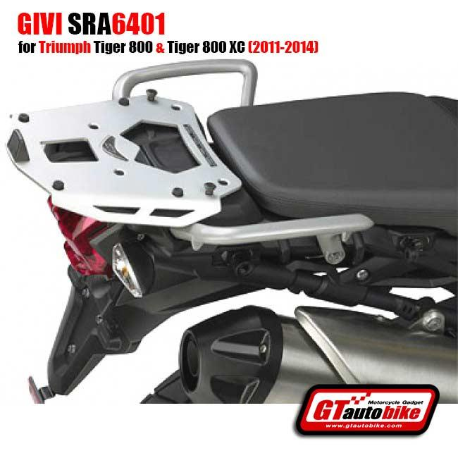 GIVI SRA6401 Rear Plate in Aluminium