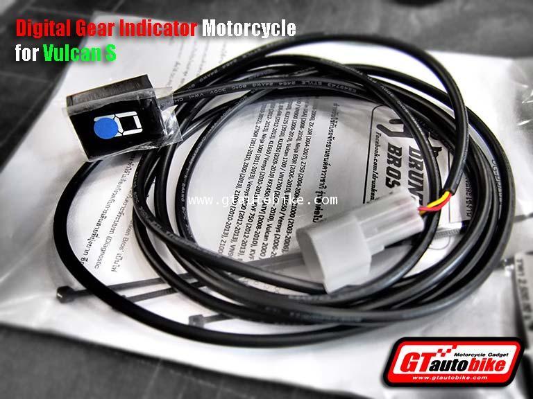 Digital Gear Indicator Motorcycle for KAWA