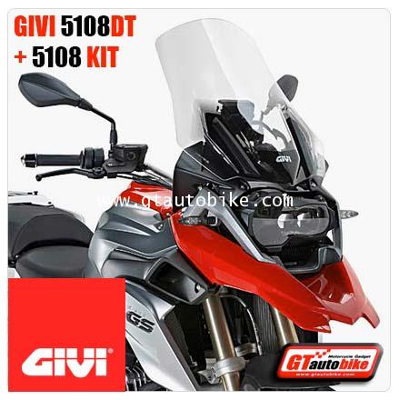 GIVI 5108DT Windscreen + 5108KIT