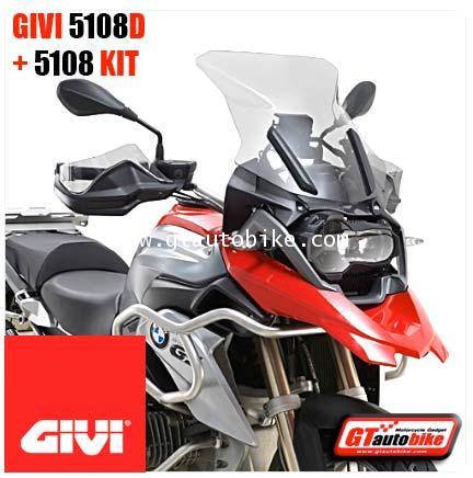 GIVI 5108D Windscreen + 5108KIT