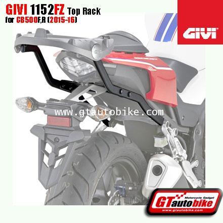 GIVI 1152FZ Top Box Rack for Honda CB 500F,R (14-16)