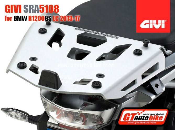 Givi SRA5108 Aluminum Rack BMW R1200GS (13-17), R1200GS(19)