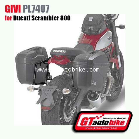 Givi PL7407 Pannier Racks for Ducati Scrambler