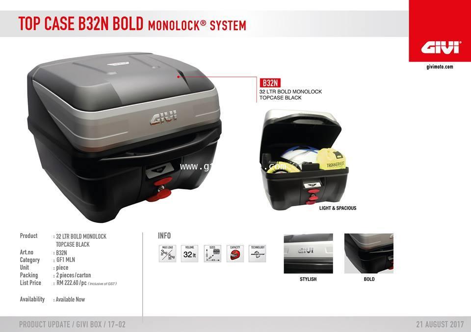 GIVI  B32N Bold