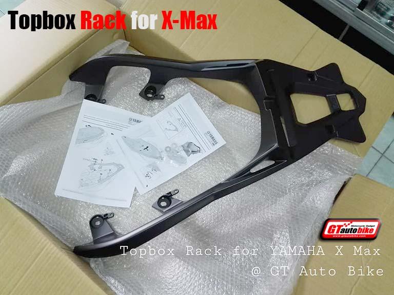 Topbox Rack for Yamaha X-Max (2017-18)