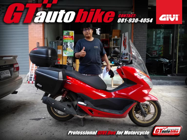 Sidebags GIVI E22 for All New PCX 2015