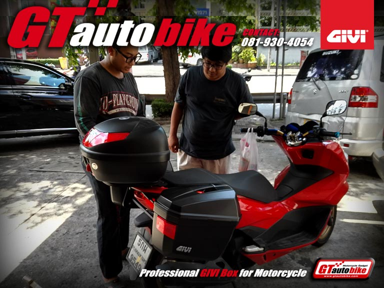 Sidebags GIVI E22 for All New PCX 2015 1