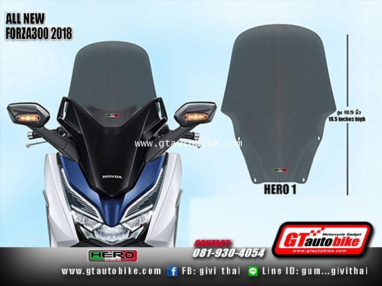 Windshield New Honda FORZA 2018 by Hero