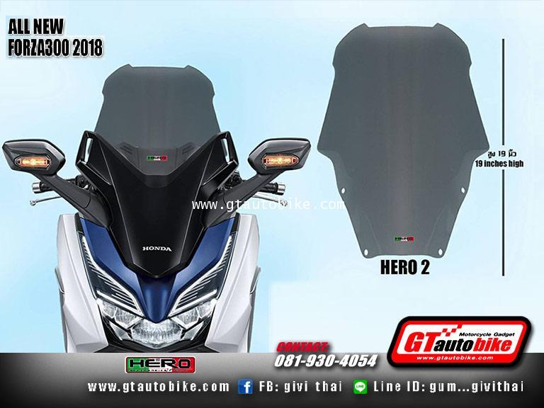 Windshield New Honda FORZA 2018 by Hero 1