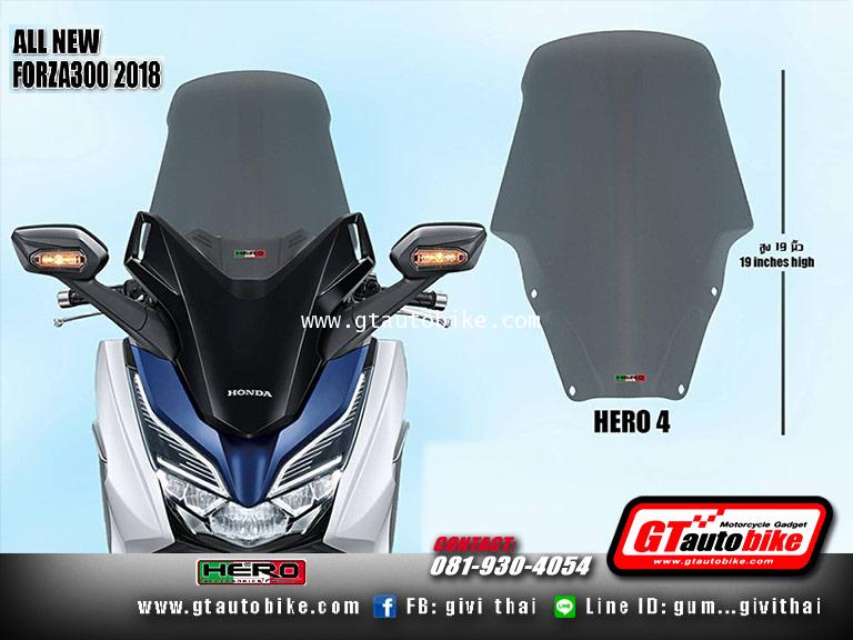 Windshield New Honda FORZA 2018 by Hero 3