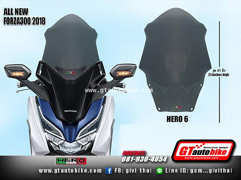 Windshield New Honda FORZA 2018 by Hero 4