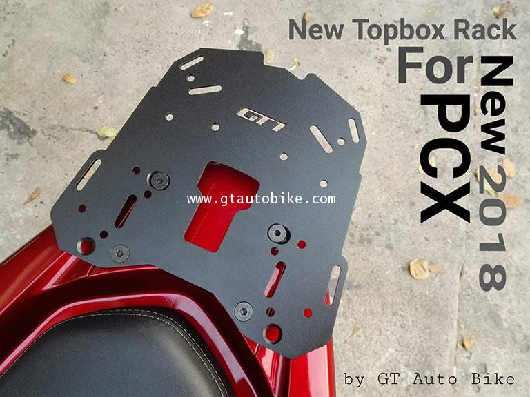 * New GT1 Rack Edition / Plate for PCX 125, 150  New PCX 2014