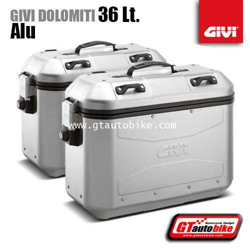 GIVI DOLOMITI DLM36 (Aluminium ) Side Box