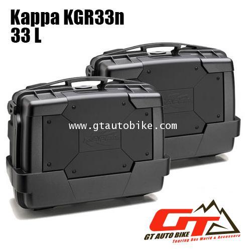 Kappa KGR33N Black / pack 2