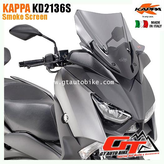 Kappa KD2136S for Xmax บังลมหน้าทรง Sport