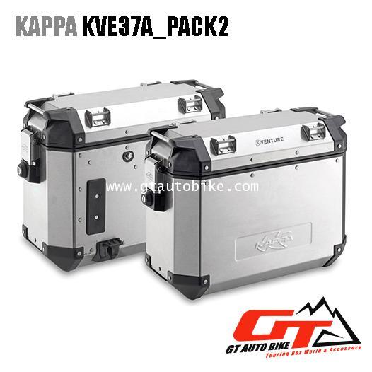 Kappa KVE37A_PACK2 อลูมิเนียม -37 ลิตร