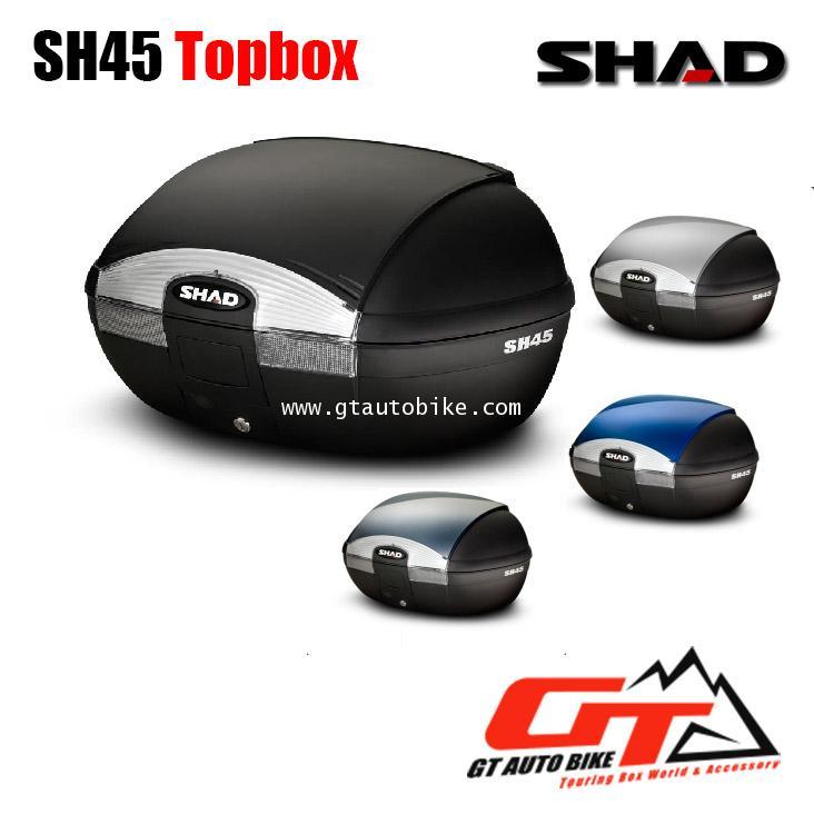 SHAD SH45 Topbox / กล่องหลัง ขนาด 45 ลิตร