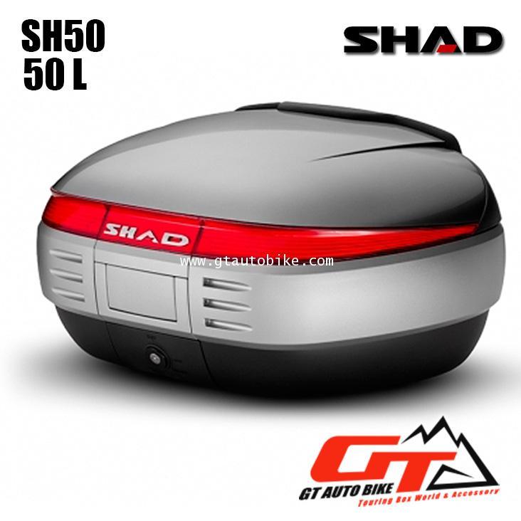 SHAD SH50 Topbox / กล่องหลัง ขนาด 50 ลิตร คละฝาสี