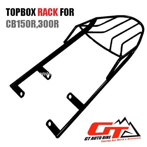 TOPBOX Rack for Honda CB150R,300R
