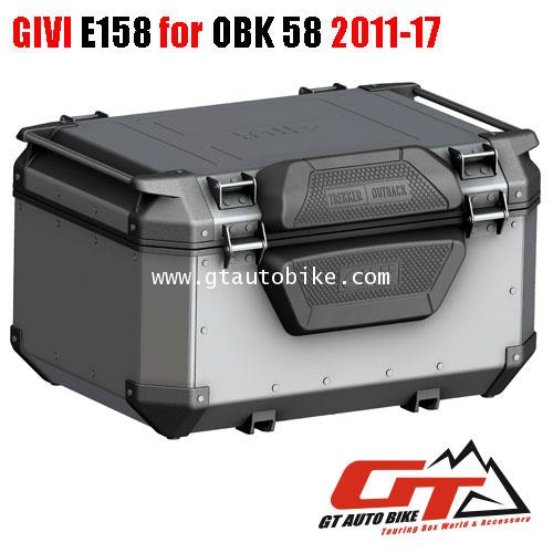 GIVI E157 Backrest (for Outback 42, 58) 3