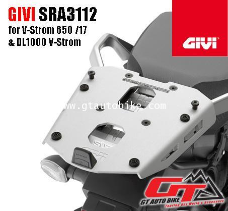 GIVI SRA3112 ALUMINIUM TOP BOX RACK FOR SUZUKI V-strom 650 XT / DL 1000 V-STROM