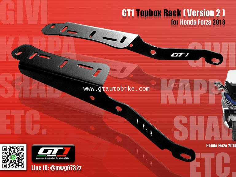 Topbox Rack for Honda FORZA  2018 by GT1 Edition