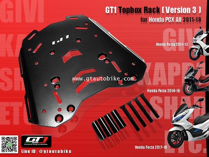 * New Edition GT 1 Rack (vresion 3) for PCX 125, 150  New PCX 2011-18