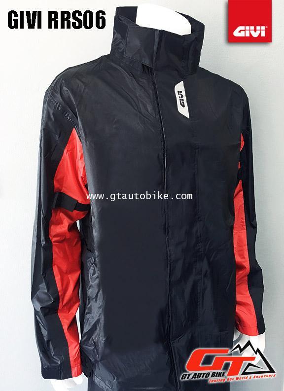 GIVI Rain Suit / RRS06 / Black Red