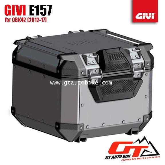 GIVI E157 Backrest (for Outback 42, 58) 1