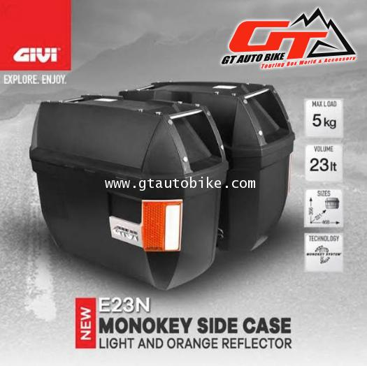 GIVI E23 Side Cases with Signal Light