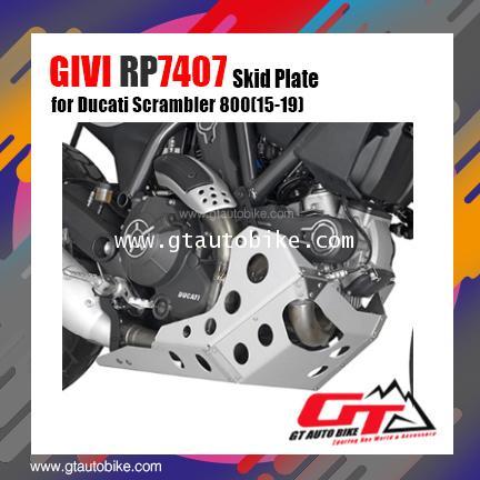 GIVI RP7407 Oil Pan Protector for Ducati Scrambler 800 (15-18)