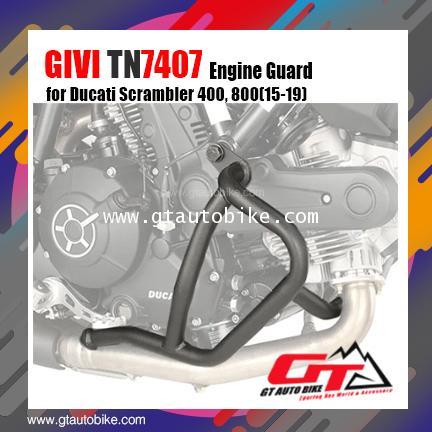 GIVI TN7407 Engine Guard for Ducati Scrambler 400, 800