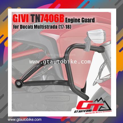 GIVI TN7406B (Engine Guard) for Ducati Multistrada 950 (17-18)
