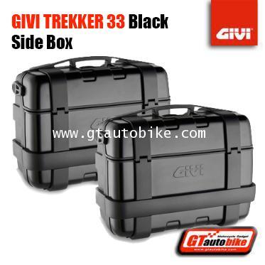 GIVI TREKKER 33 SIDE Case / 33 Lite ( Black )