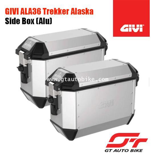 GIVI ALA36A Alaska Side Case Set (Aluminium)