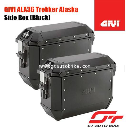 GIVI ALA36B Alaska Side Case Set (Black)
