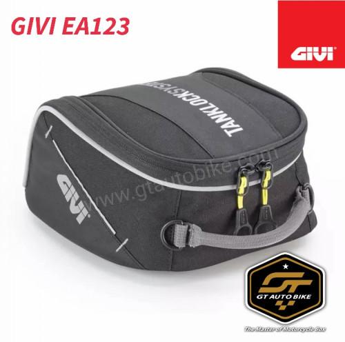 กระเป๋าติดถัง GIVI EA 123  (ไม่รวมวงแหวน ตามรุ่นรถ)