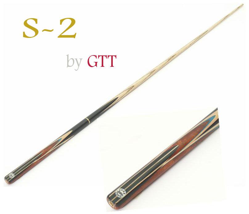 ไม้คิว LEGACY รุ่น S-2 แบบต่อด้าม 9 จำปา ปลายด้ามมีข้อต่อทองเหลืองสำหรับต่อท่อนที่ 3