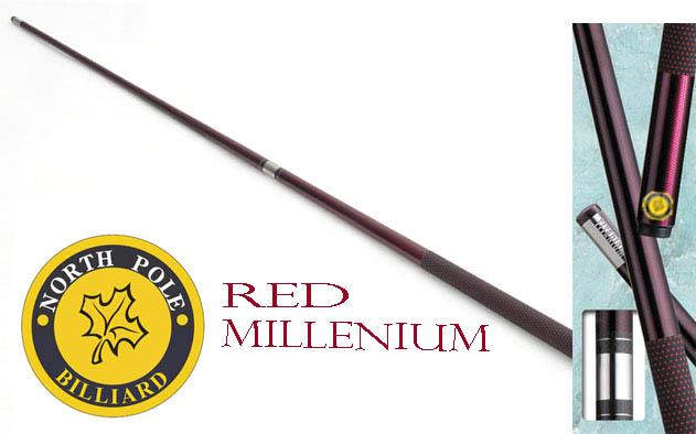 ไม้พูลกราไฟต์ NORTHPOLE รุ่น RED MILLENIUM แบบต่อกลาง
