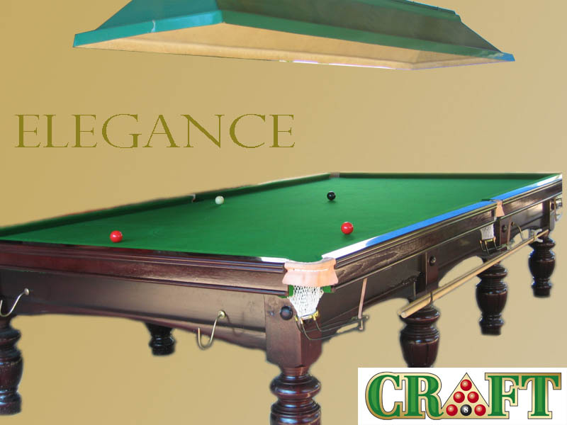 โต๊ะสนุ๊กเกอร์ CRAFT รุ่น ELEGANCE by GTT BILLIARD