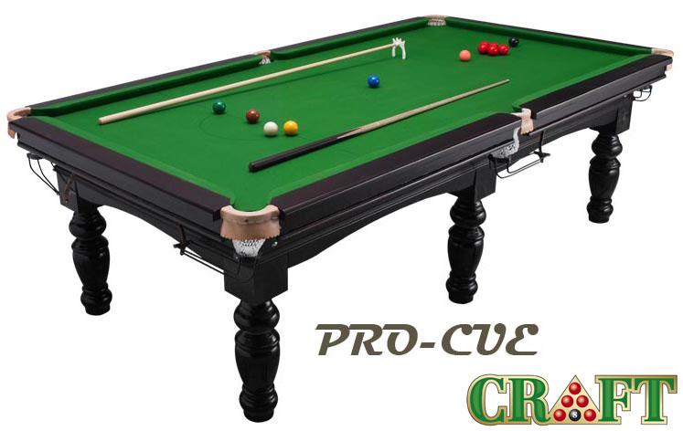 โต๊ะสนุ๊กเกอร์ CRAFT รุ่น PRO-CUE by GTT BILLIARD (ขนาด 4x8)