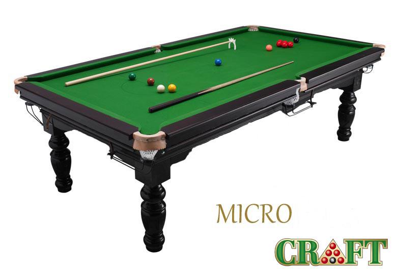 โต๊ะสนุ๊กเกอร์ CRAFT รุ่น MICRO by GTT BILLIARD (ขนาด 3x6)
