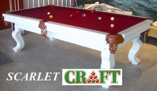 โต๊ะพูล CRAFT รุ่น SCARLET by GTT Billiard