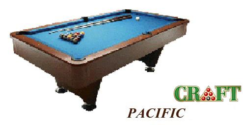 โต๊ะพูล CRAFT รุ่น PACIFIC by GTT Billiard