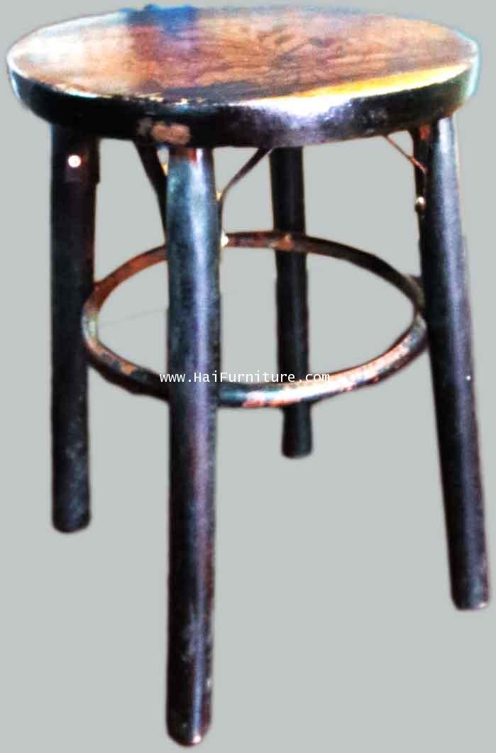 เก้าอี้กาแฟหัวโล้น ปี 1960 29.5*29.5*49 ซม.