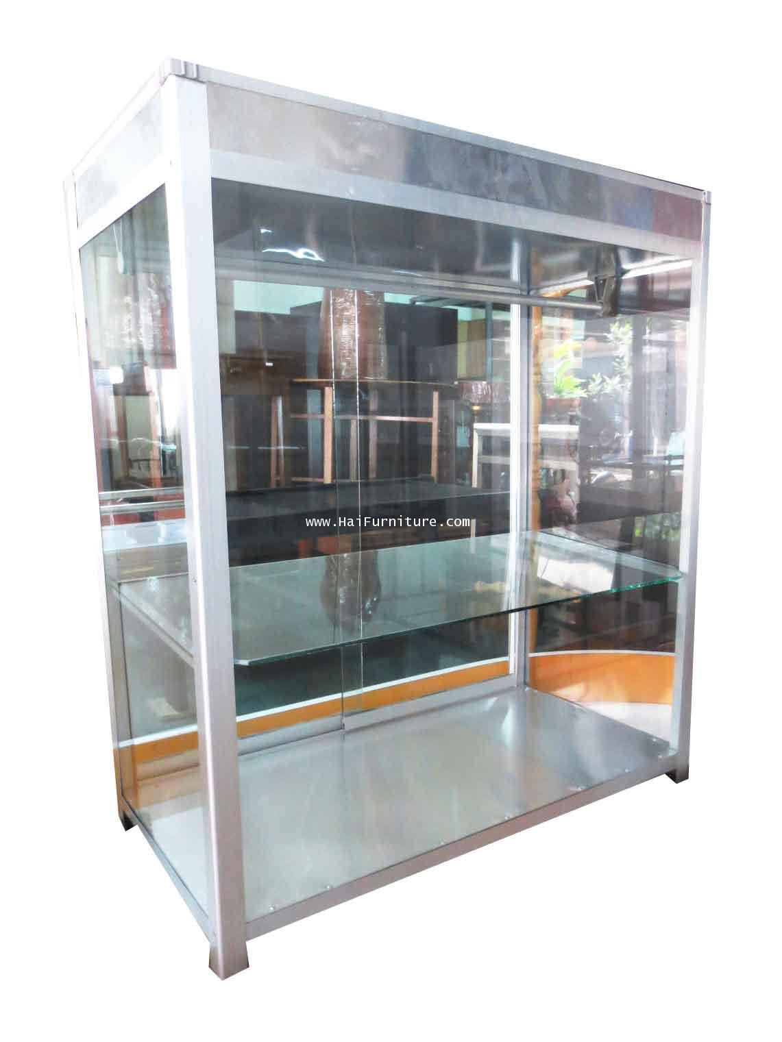 ตู้โชว์ขายอาหาร ตู้ขายก๋วยเตี๋ยว 30 นิ้ว ก77*ล40*ส87.5 ซม.