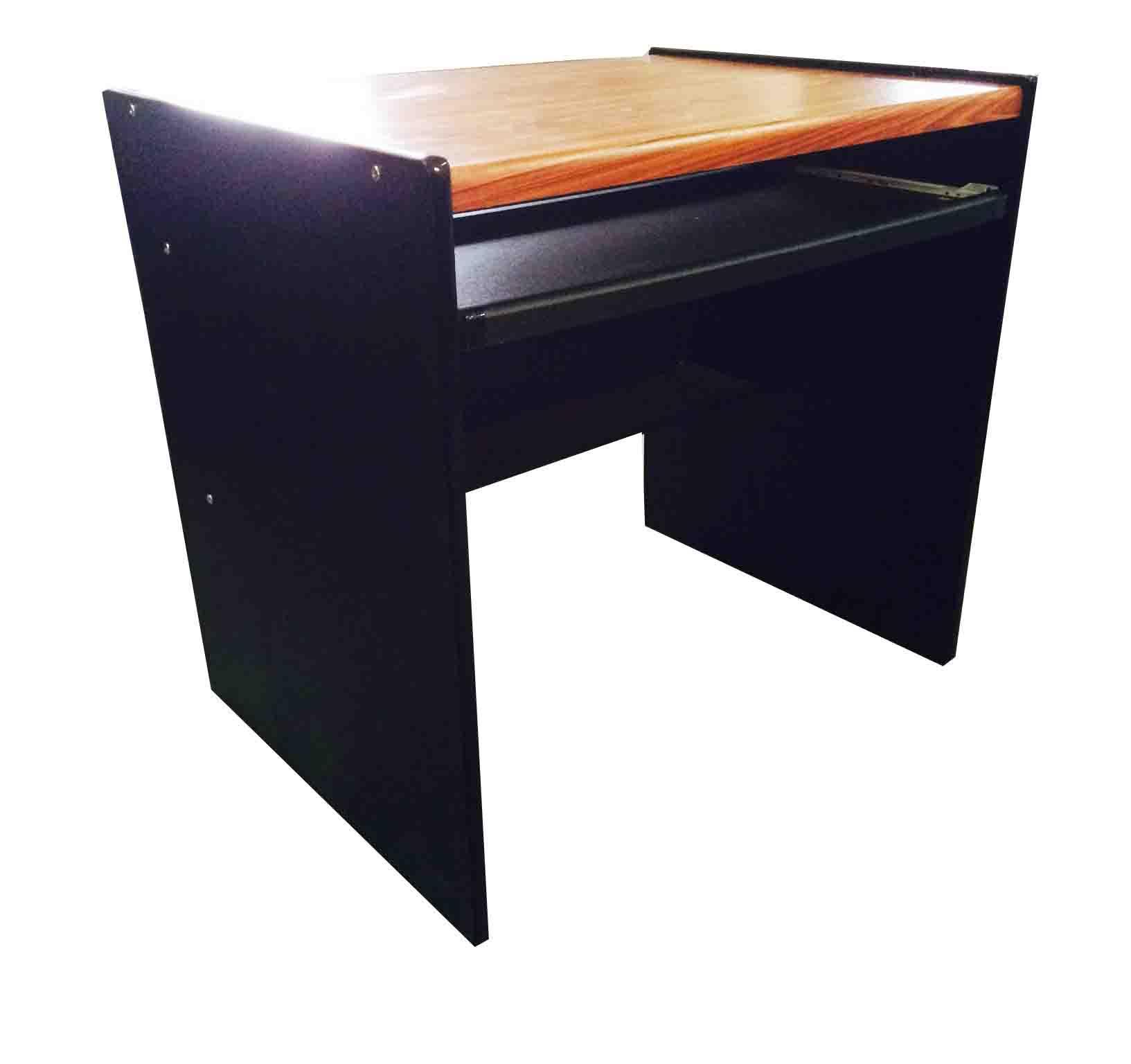 โต๊ะคอมพิวเตอร์ 80 ซม. PVC สักดำ