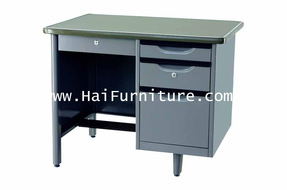 โต๊ะทำงานเหล็ก 3.5 ฟุต ตรา Elegant